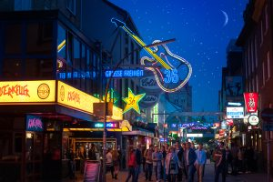 Hamburg Reeperbahn 300x200 - At Night On The Reeperbahn